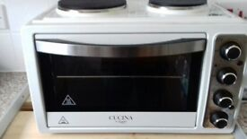 Cucina 28 Litre Electric Oven with Hot Plates by Giani BOXED