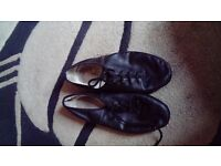 used kids dancing shoes originally from stage coach