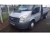 2011- 60 plate ford transit 115-350 single cab alloy dropside pickup very clean plus vat
