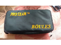 proteam boules x8 with case