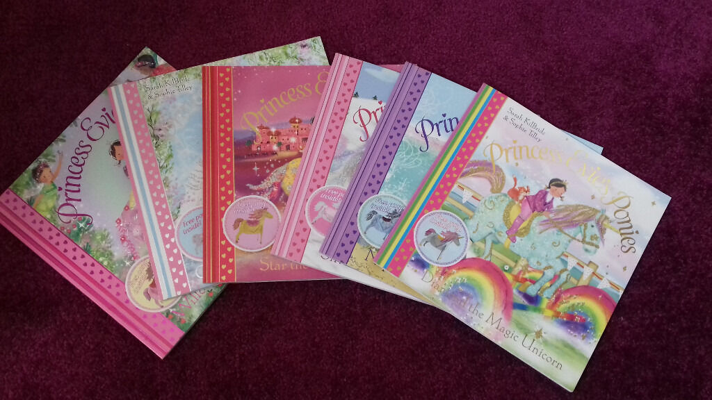 Set of 6, Princess Evies's Ponies Books, Like New