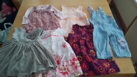 Baby girls clothes 6-9months. 5