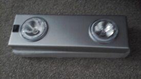 Battery spotlights