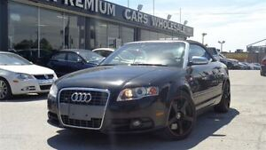 2007 Audi S4 Convertible 4.2L V8 All Wheel Drive | Navigation|