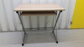FREE SAME DAY DELIVERY: Beautiful desk with sliding keyboard platform in excellent condition
