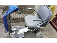 mobility scooter for sale excellent new condition but no longer made. sensible offers only please.