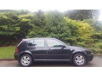 VW GOLF AUTOMATIC, 53 REG, 109K MILES, FSH, HPI CLEAR, TIMING BELT DONE, DRIVES MINT