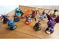 Skylander xbox 360 game, portal and figures.