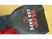 Dog Clix car safe belt size large