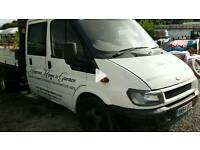Ford transit tipper crewcab non runner