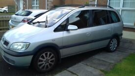 03 Vauxhall Zafira