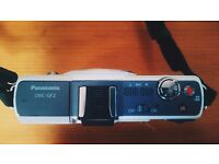 Panasonic GF2 (body only) M 4/3 for sale w/ Canon Adapter