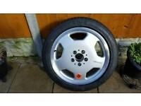 alloy wheel Amg mercedes