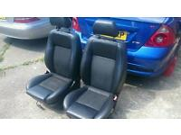 Half leather mondeo ST seats
