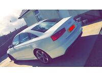 2013 White Audi A6 S Line automatic