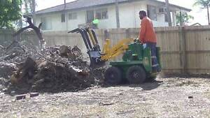 Mini Digger Hire Trenches Post Hole Digging Turf Preparation Kingston Logan Area Preview