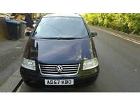CHEAP VOLKSWAGEN SHARAN 2008 7 SEATER AUTOMATIC 1.9TDI FOR QUICK SALE OR SWAPS