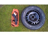 Genuine Vauxhall Corsa Spare Wheel Kit 195/55 R16 2012 onward