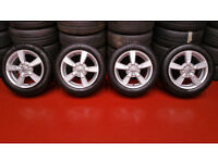 Seat Genuine 16 alloy whells + 4 x tyres 205 55 16 Michelin