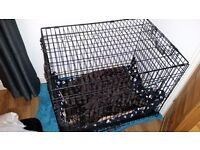 Large Folding Dog crate/cage W60xL86xH67