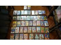 Job Lot of Children's Films - (49 Films) VHS