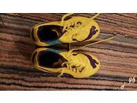 Puma exo power yellow football boots size 3