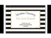 Sparkles Home and Cleaning Service **looking for new clients in Bolton and surrounding areas