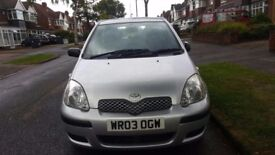 TOYOTA YARIS AUTOMATIC, 03 REG, 42K MILES, HPI CLEAR, FSH, DRIVES MINT, DELIVERY AVAILABLE