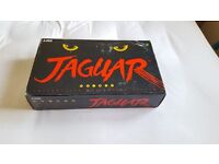 Atari jaguar console - boxed with controller, all leads and Cybermorph game.