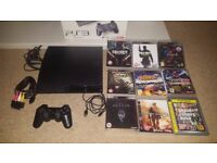Sony Playstation 3 with 9 games