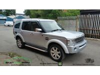 2008 LAND ROVER DISCOVERY 3 2.7 TDV6 DIESEL SILVER BREAKING SPARES PARTS SALVAGE