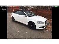 2012 12reg Audi A3 2.0 Tdi S-Line Convertible Automatic Cheapest Ever Books At £14k