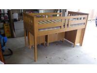 Harvey sleep station single bed with Glencraft mattress