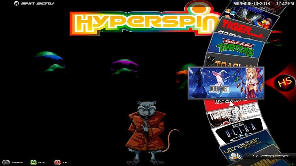 8tb Hyperspin Arcade - 347 x System wheels (80,000+ games) | in  Chessington, Surrey | Gumtree