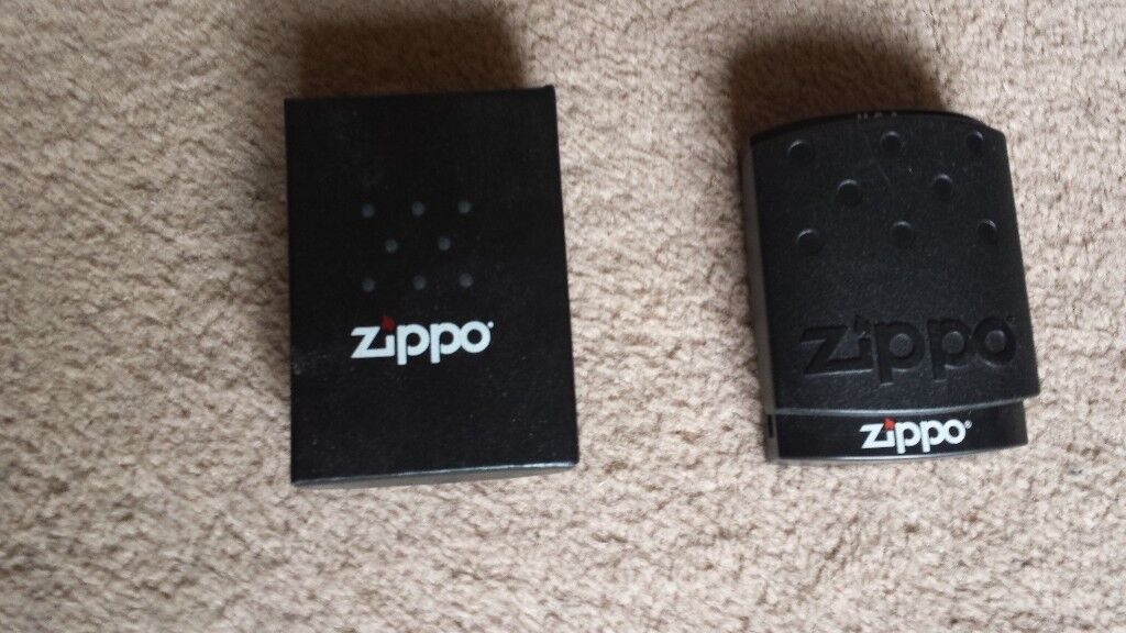 Zippo lighters, used but in good condition.