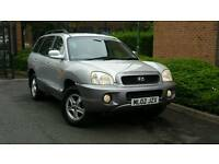 HYUNDAI SANTA FE 2.7 V6 ++5 DOOR AUTOMATIC++12 MONTHS MOT++4 X 4++TOW BAR FITTED++AUTO++