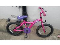 Apollo Star Girls Bike 18inch wheels