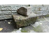Free to collector landscaping stones