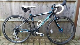 Ideal first Road or Triathlon Bike, Kids Forme 24'' Wheel Road/Cyclocross Bike
