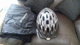 waterproff trouser s and helmet