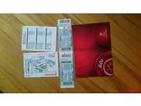 Moto GP tickets (2) San Marino, Italy