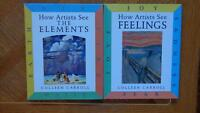 How Artists See the Elements; How Artists See Feelings (2 books)