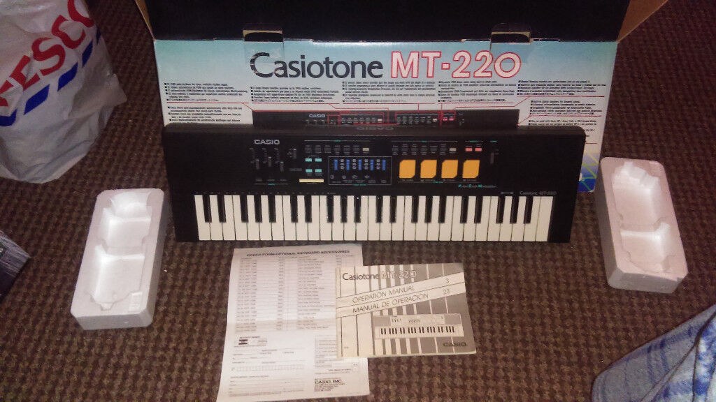 Casiotone MT-220 for sale