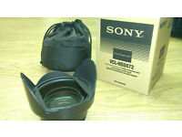 Sony Wide angle Video Lens – VCL HG0872