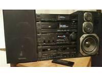 Technics Stereo + 2 speakers £100