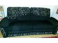 DFS 3 seater electric recliner