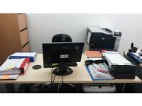 DESK SPACE ONE OR THREE Great location FULHAM HIGH STREET SW63LQ -£375PCM
