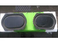 Kef b200 speakers & Passive Bass Radiators