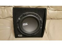 CAR ACTIVE SUBWOOFER FLI 800 WATT 10 INCH WITH BUILD IN MONOBLOCK AMPLIFIER SUB WOOFER AMP BASS BOX
