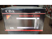 CDA microwave/oven/grill - 1200 watt - 28 litre - £15
